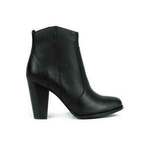 Joie Dalton Western Ankle Boot Black Leather $365